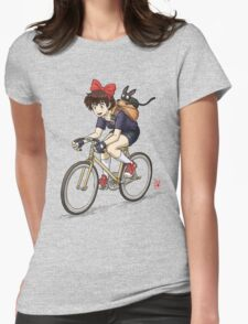 Kiki's Bike Messenger Service Womens Fitted T-Shirt