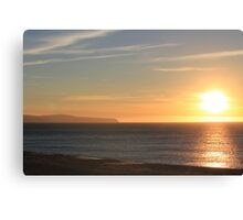Carrickalinga Sunset #11 Canvas Print