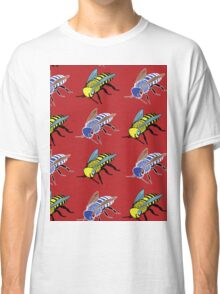 'Bees in red' design my LUCILLE Classic T-Shirt