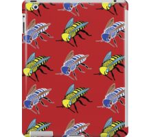 'Bees in red' design my LUCILLE iPad Case/Skin