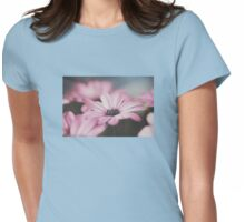 Light pink African Daisy Womens Fitted T-Shirt