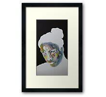 Paper Portrait Framed Print