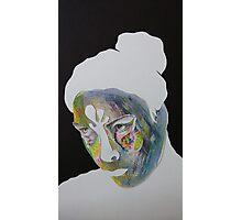 Paper Portrait Photographic Print