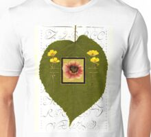 HEART LEAF OF A LINDEN TREE - Symbol of LOVE Unisex T-Shirt