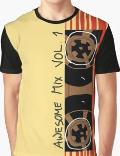 Awesome Mix Vol. 1 Graphic T-Shirt