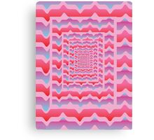 'Psychedelia' design by LUCILLE Canvas Print