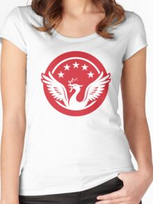 the kop logo Women's Fitted Scoop T-Shirt