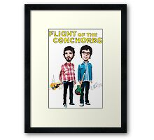 Flight Of The Conchords Framed Print