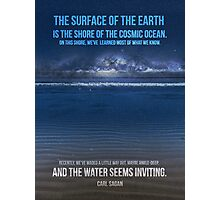 The Shore of the Cosmic Ocean Photographic Print