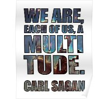 Each Of Us A Multitude [Shirt & White Print] Poster