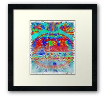 AB72 Abstract Framed Print