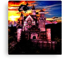 witch and fairy tale Canvas Print