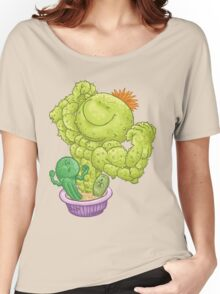 Strong Cactus Women's Relaxed Fit T-Shirt
