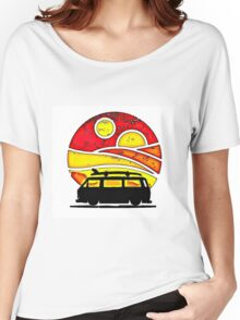 Sunset wedge Women's Relaxed Fit T-Shirt