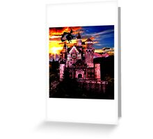 witch and fairy tale Greeting Card