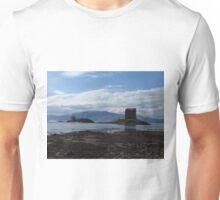Rocky Foreshore; Castle Stalker Unisex T-Shirt