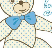 Pattern for baby boy Sticker
