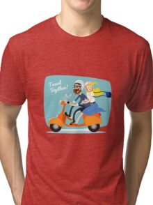 Travel Together Tri-blend T-Shirt