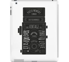 old machine II iPad Case/Skin