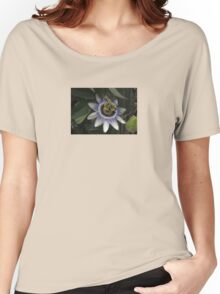 Delicate and Beautiful Passiflora Flower Women's Relaxed Fit T-Shirt