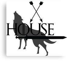 Game of Thrones - Stark Canvas Print