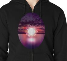 Oceans of Light Zipped Hoodie