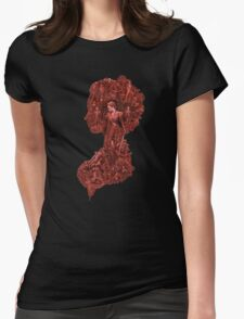 Pride + Prejudice + Zombies movie comedy horror logo Elizabeth Bennet   Womens Fitted T-Shirt
