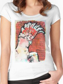 Major Mitchell's Cockatoo Women's Fitted Scoop T-Shirt