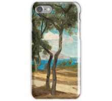 OLOF ARBORELIUS, FOREST GLADE ON THE ITALIAN COAST. iPhone Case/Skin