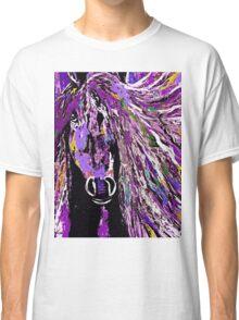 Horse Purple Classic T-Shirt