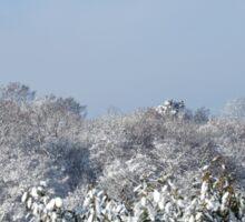 Ashurst Wood Snow Sticker