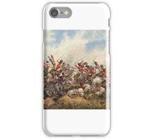 Orlando Norie - Royal Scots Greys at Waterloo iPhone Case/Skin