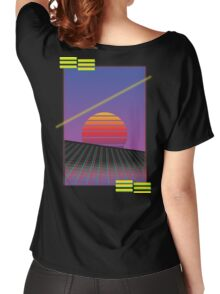 Retro Sunset Women's Relaxed Fit T-Shirt