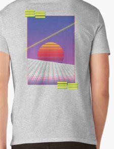 Retro Sunset Mens V-Neck T-Shirt