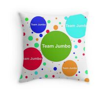 Team Jumbo Throw Pillow