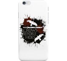 Crows Before Hoes - GoT iPhone Case/Skin