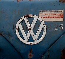 rustic vw badge by Perggals© - Stacey Turner