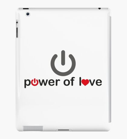 Power of Love iPad Case/Skin