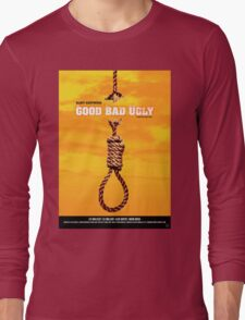The Good, the Bad and the Ugly - Movie Poster Long Sleeve T-Shirt