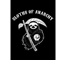 Sloths Of Anarchy Photographic Print