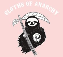 Sloths Of Anarchy Kids Clothes