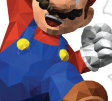 Low Poly Mario Sticker