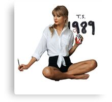 Taylor swift - ts 1989 Canvas Print