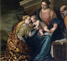 Paolo Veronese, The Holy Family with the Infant St. John the Baptist by Adam Asar