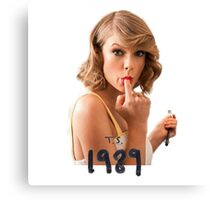 Taylor swift - ts 1989 mood Canvas Print