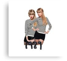 Twins Taylor swift - ts 1989 Canvas Print