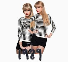 Twins Taylor swift - ts 1989 Women's Fitted Scoop T-Shirt