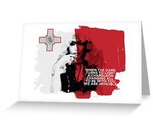 Malta - Eurovision 2016 Greeting Card