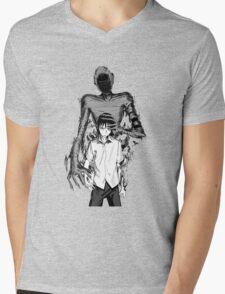 Ajin Mens V-Neck T-Shirt