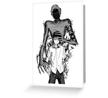Ajin Greeting Card